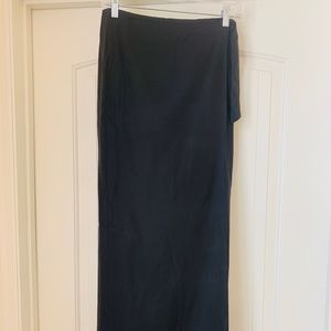 Vince Long Wrap Skirt